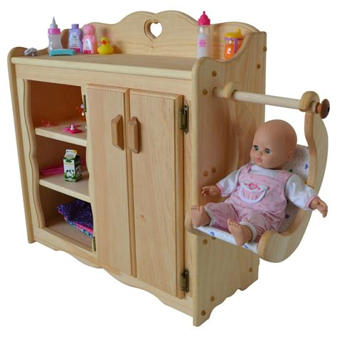 Changing Table Toys Dolly S Changing Table Elves Heirloom Quality Wooden Toys