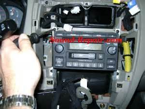 Hyundai Tucson Radio Removal Hyundai Tucson 05 07 Stereo Removal Sound