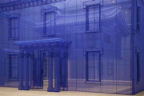 do ho suh constructs a home within a home at mmca