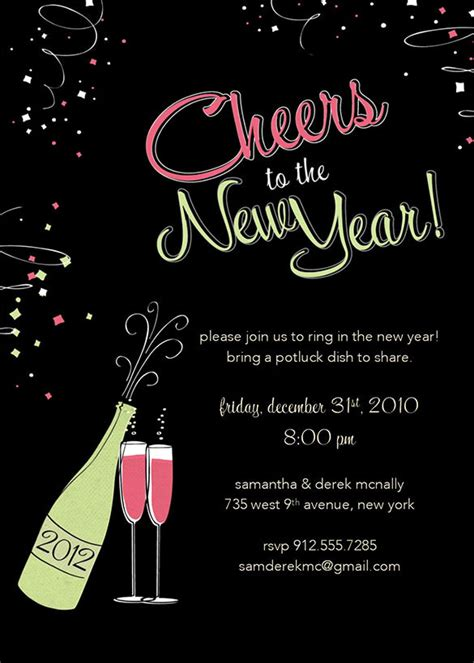 28 new year invitation templates free word pdf psd
