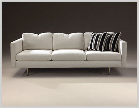 design classic sofa design classic 855 303 sofa by milo baughman from thayer