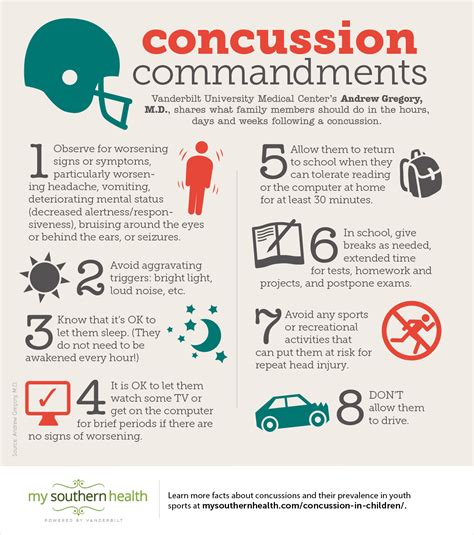 concussions how to treat a youth concussion