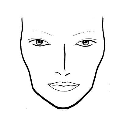 makeup design template chart szukaj w make up