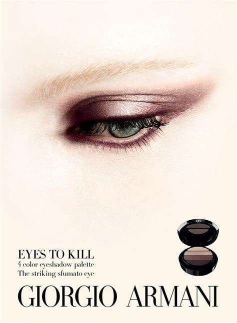 Makeup Giorgio Armani giorgio armani beauty s f w 2012 caign