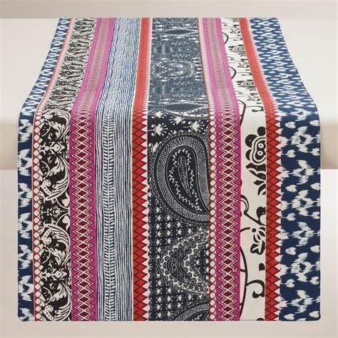 stripe table runner tribal stripe table runner market