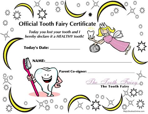 free printable tooth certificate template free coloring pages of tooth letter