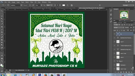 cara membuat kartu ucapan idul adha cara membuat kartu ucapan idul fitri ramadhan 1438 h