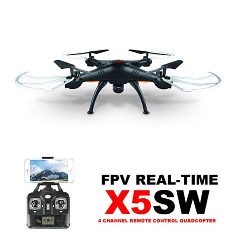 Drone Syme X5sw Fpv Hd Wifi Android Ready syma x5sw rc quadcopter wifi fpv explorers ii with hd