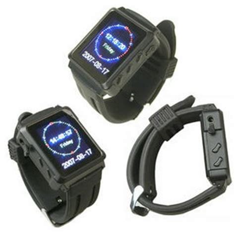 Ces 2007 Worlds Smallest Wireless Fm Transmitter by 4gb Mp4 With Fm Transmitter From Wrist To Radio In