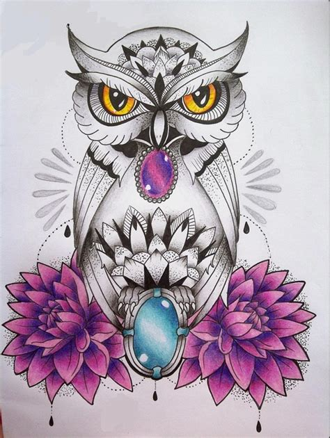 New Color Owl owl pinteres