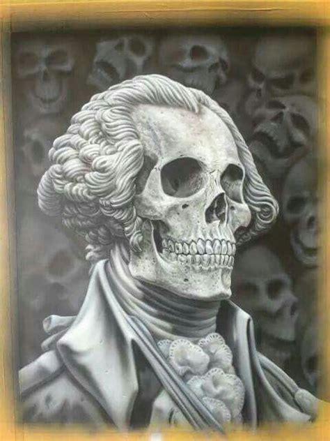 george washington tattoo 17 best skulls images on airbrush skull