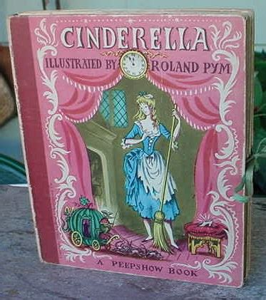 libro cinderella a pop up fairy vintage cinderella fairy tale pop up type by katysjewels on etsy
