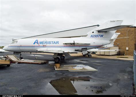n295tw dassault falcon 20c ameristar air cargo jetphotos