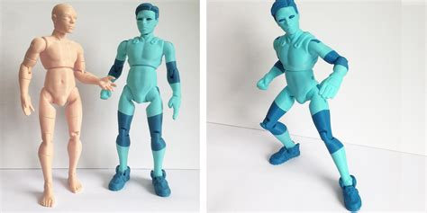 figure 3d model 3dkitbash unveils printed models of niq the easily