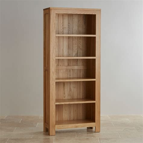 oakdale solid hardwood tall bookcase