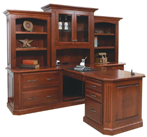 partner desk with hutch buckingham partner desk with three hutch from