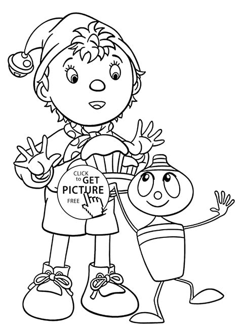 noddy coloring pages games noddy coloring pages for kids with skittle printable free