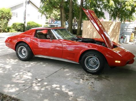 sell used 1975 chevy corvette stingray coupe l82 4 spd t tops 83k direct auto in stafford sell used 1975 chevy corvette sport coupe l82 4 speed in coldwater ohio united states