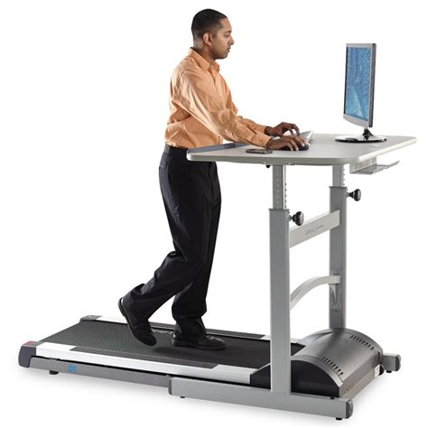 Would You Use A Treadmill Desk Gizmodo Uk Work Standing Desk