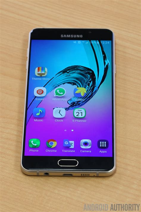 impressions samsung galaxy a7 2016 falls just of perfection android authority