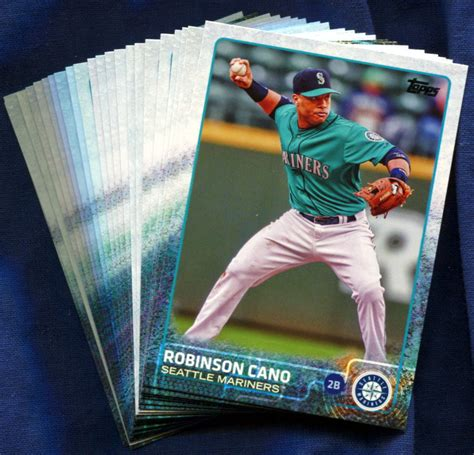 2015 topps seattle mariners baseball cards team set - Seattle Mariners Gift Card
