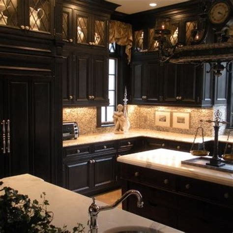 pics of black kitchen cabinets 17 best ideas about black kitchen cabinets on
