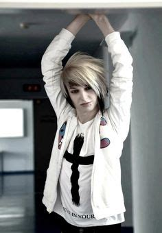 emo hairstyles black and white 1000 images about emo scene on pinterest emo boys