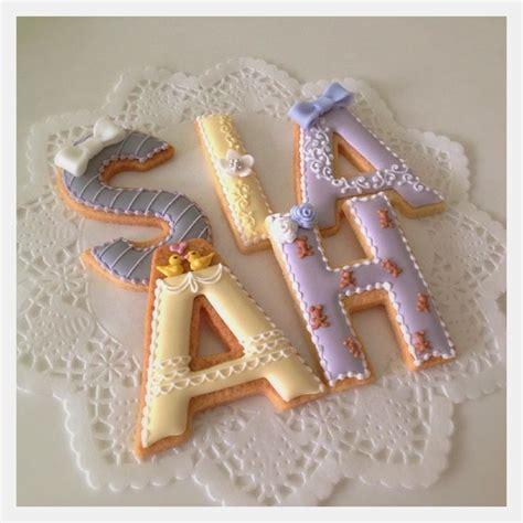 biscotti lettere c bonbon lettera di biscotti biscotti decorati