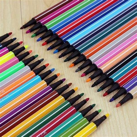 Water Color Pen Set marker set 12 18 24 36 colors pen water color pen