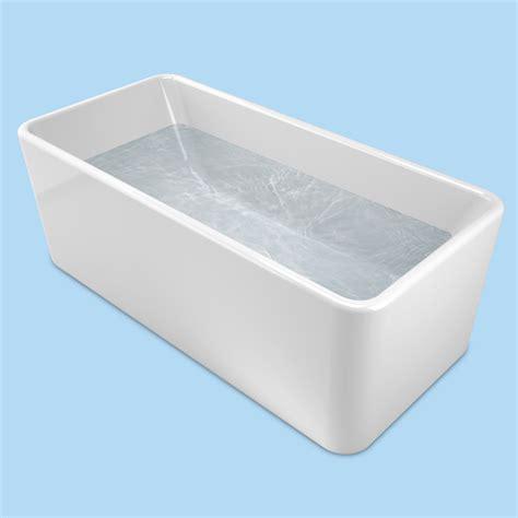 caroma bathtubs caroma cube 1600 freestanding bath bunnings warehouse