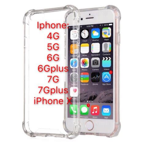 iphone 4g 4s 5g 5s 6g 6s 6gplus 7g 7gplus iphonex shockproof shopee philippines