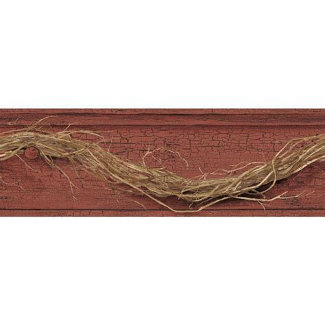 Wall Border Promo 7 york wallcoverings country keepsakes grapevine twig