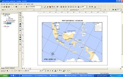 rotate layout view arcgis trik memutar peta di dalam layout tutorial arcgis 9 3 1