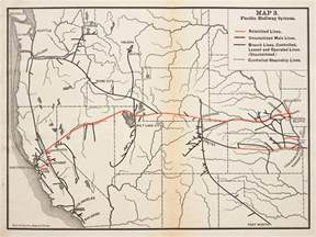 union pacific railroad map california a brief history of the pacific railway the