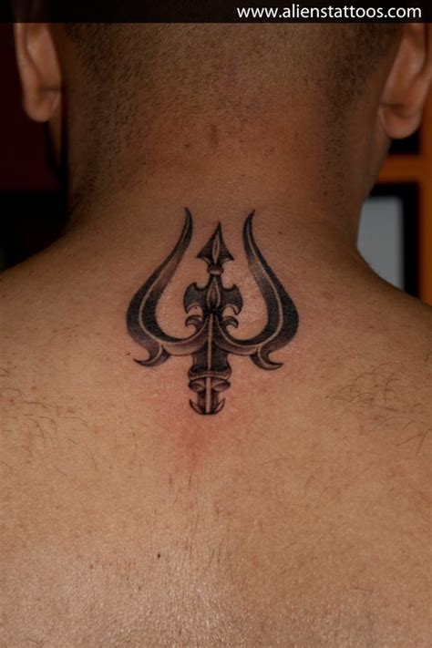 trishul tattoo trishul designed and inked by at aliens