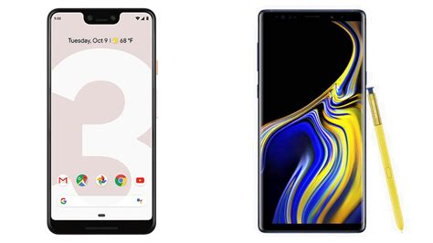 3 samsung note 9 pixel 3 xl vs samsung galaxy note 9 tech advisor