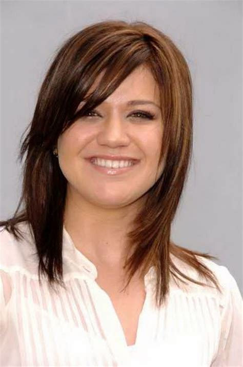 medium haircuts with side bangs pictures of medium length haircuts with bangs