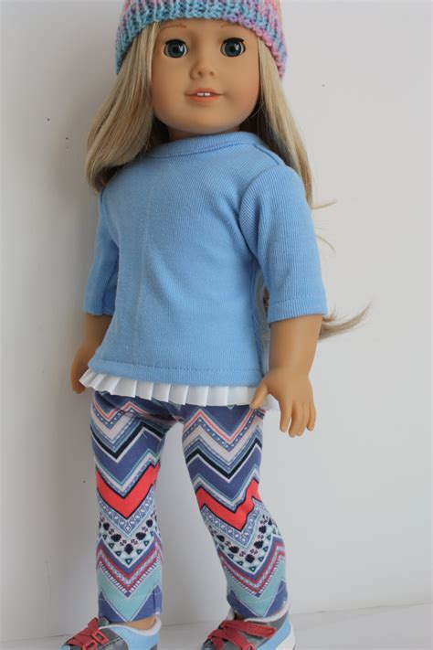 Wardrobe For Dolls Clothes 18 Inch by 18 Inch Doll Clothes Aztec And Top By