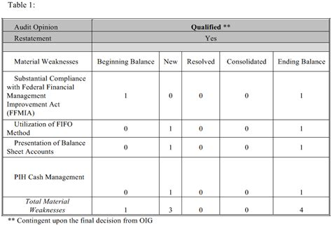 Section 3 Management Office by Summary Of Financial Statement Audit And Management