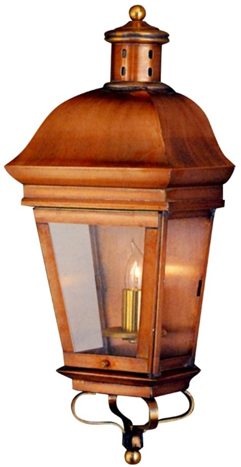 early american exterior lighting american legacy wall sconce outdoor light copper lantern