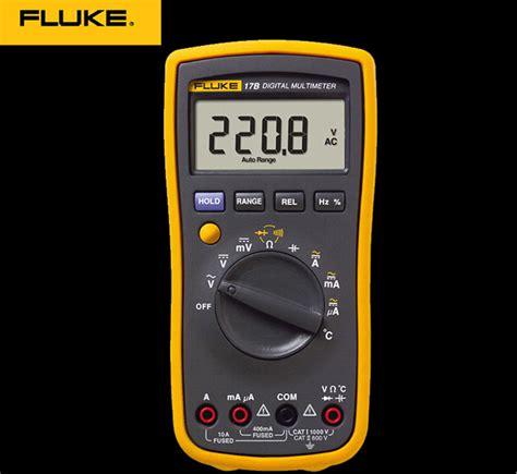 fluke diode test fluke 17b f17b auto range digital multimeter meter ac dc diode r f temp cap ebay