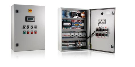 Electricians Racking by Electrical Panel For Compressor Racks
