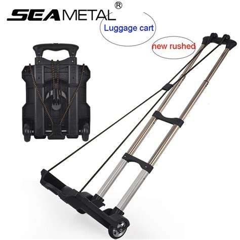 2017 car luggage cart folding trolley cart carrier use at