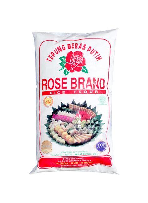 Brand Tepung Beras Putih 500 Gr tepung beras pck 500g klikindomaret