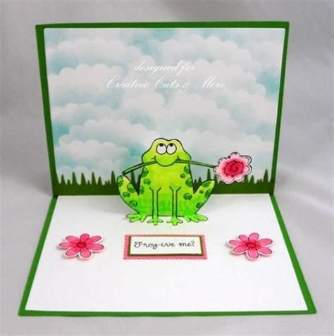 frog birthday card template search results for pop up birthday card calendar 2015