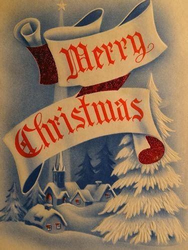 images  cardschristmas   pinterest seasons vintage greeting cards