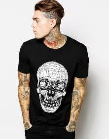 T Shirt Skull Print style edit shop asos spooky themed clothes