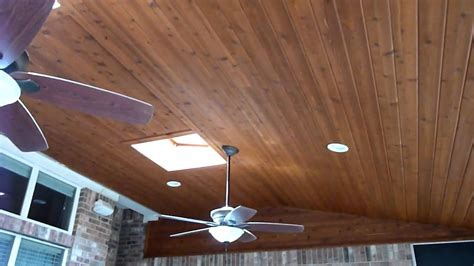 Lanai Room by Austin Cedar Screen Porch Ceiling Youtube