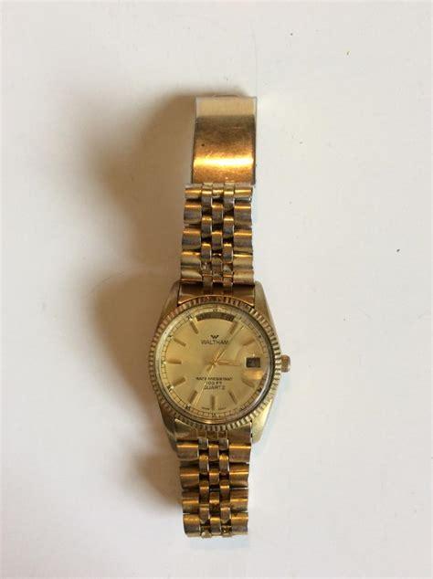 vintage mens waltham wrist