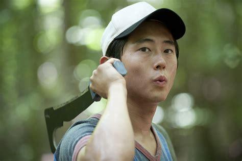 Glenn the walking dead and asian men on tv